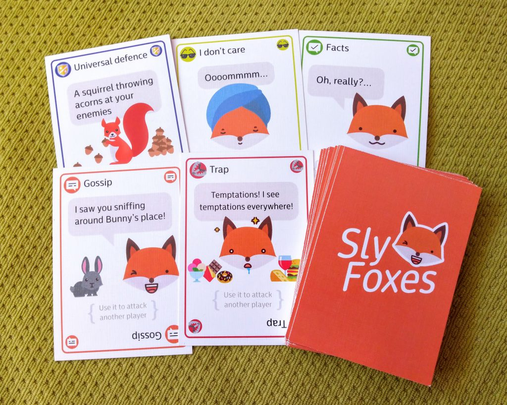 Sly Foxes borad game